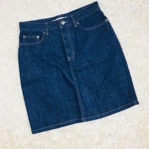 Tommy Hilfiger Size 4 Jean Skirt Medium Wash